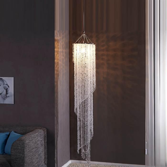 grosser design kronleuchter tropical strass 180cm acryl. Black Bedroom Furniture Sets. Home Design Ideas