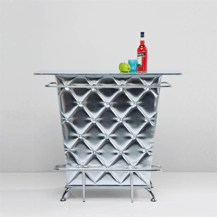 """edle minibar theke """"celebrity silver"""" - xtf24 online-shop, Wohnzimmer"""