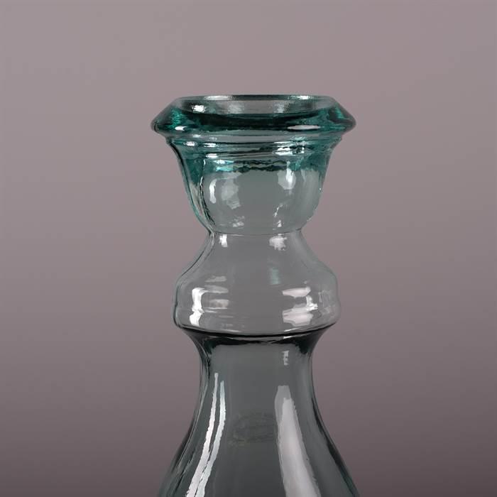 gro e design boden vase florero klar h40 17 cm glas kerzenst nder vase ebay. Black Bedroom Furniture Sets. Home Design Ideas
