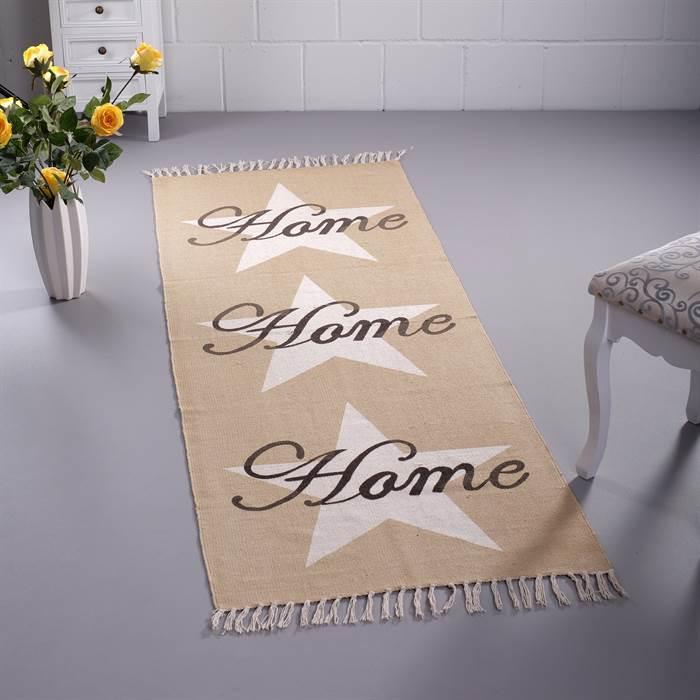l ufer home creme ca 70x200 baumwolle mit fransen. Black Bedroom Furniture Sets. Home Design Ideas