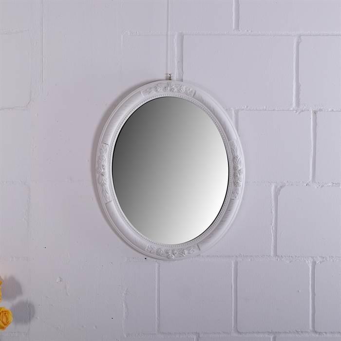 eleganter barock spiegel prunk oval 57 cm antik. Black Bedroom Furniture Sets. Home Design Ideas