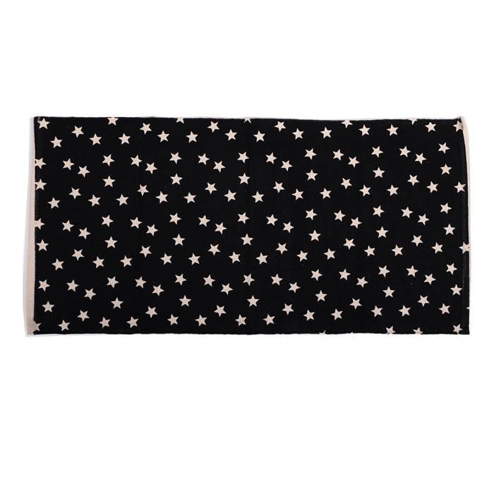 l ufer sternenhimmel anthrazit schwarz 65 x 135 cm sterne teppich ebay. Black Bedroom Furniture Sets. Home Design Ideas
