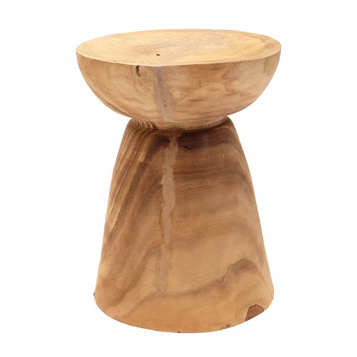 Holz hocker jungle kare design 81003 40 cm for Design holzstuhl