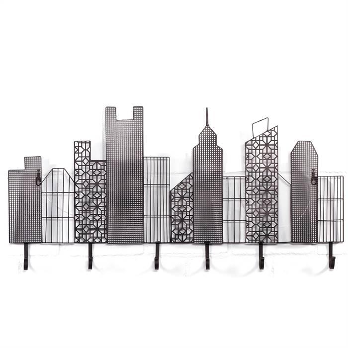 garderobenleiste skyline kare design 80779 garderobe. Black Bedroom Furniture Sets. Home Design Ideas