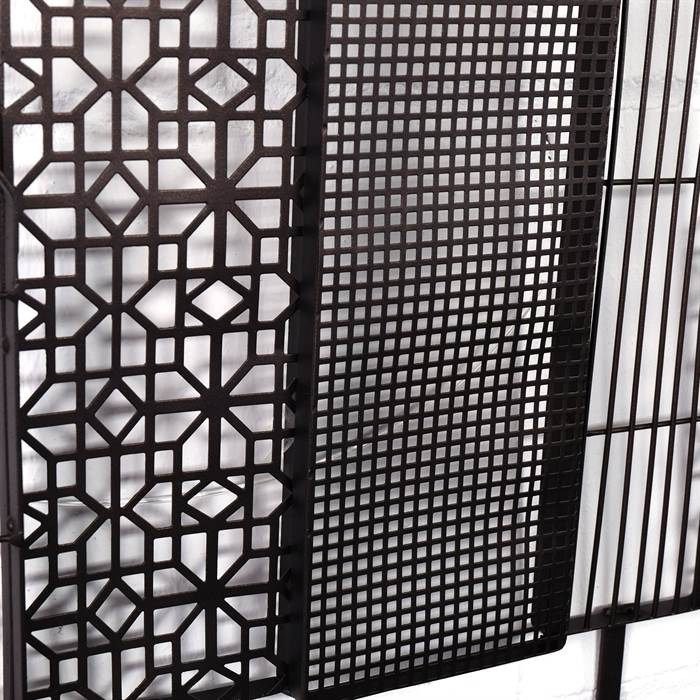 garderobenleiste skyline kare design 80779 garderobe mit 6 haken ebay. Black Bedroom Furniture Sets. Home Design Ideas