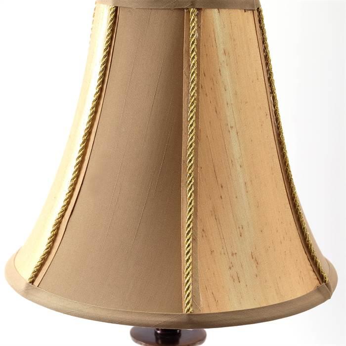 design nachttischlampe valerie braun 76x26x26 cm landhausstil stehlampe ebay. Black Bedroom Furniture Sets. Home Design Ideas