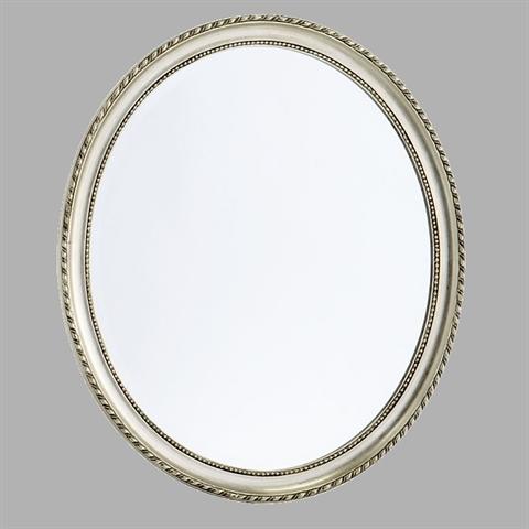 edler barock spiegel mit rahmen schmink wandspiegel jugendstil silber ebay. Black Bedroom Furniture Sets. Home Design Ideas