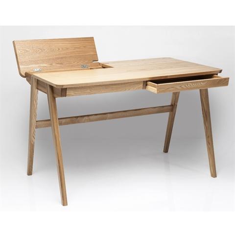 sekret r stockholm 120x70 cm holz schreibtisch mit kabelaufbewahrung ebay. Black Bedroom Furniture Sets. Home Design Ideas