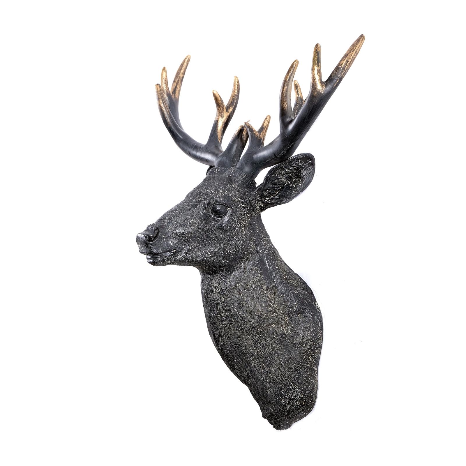 deko hirsch skulptur medium deer antique kunststein. Black Bedroom Furniture Sets. Home Design Ideas