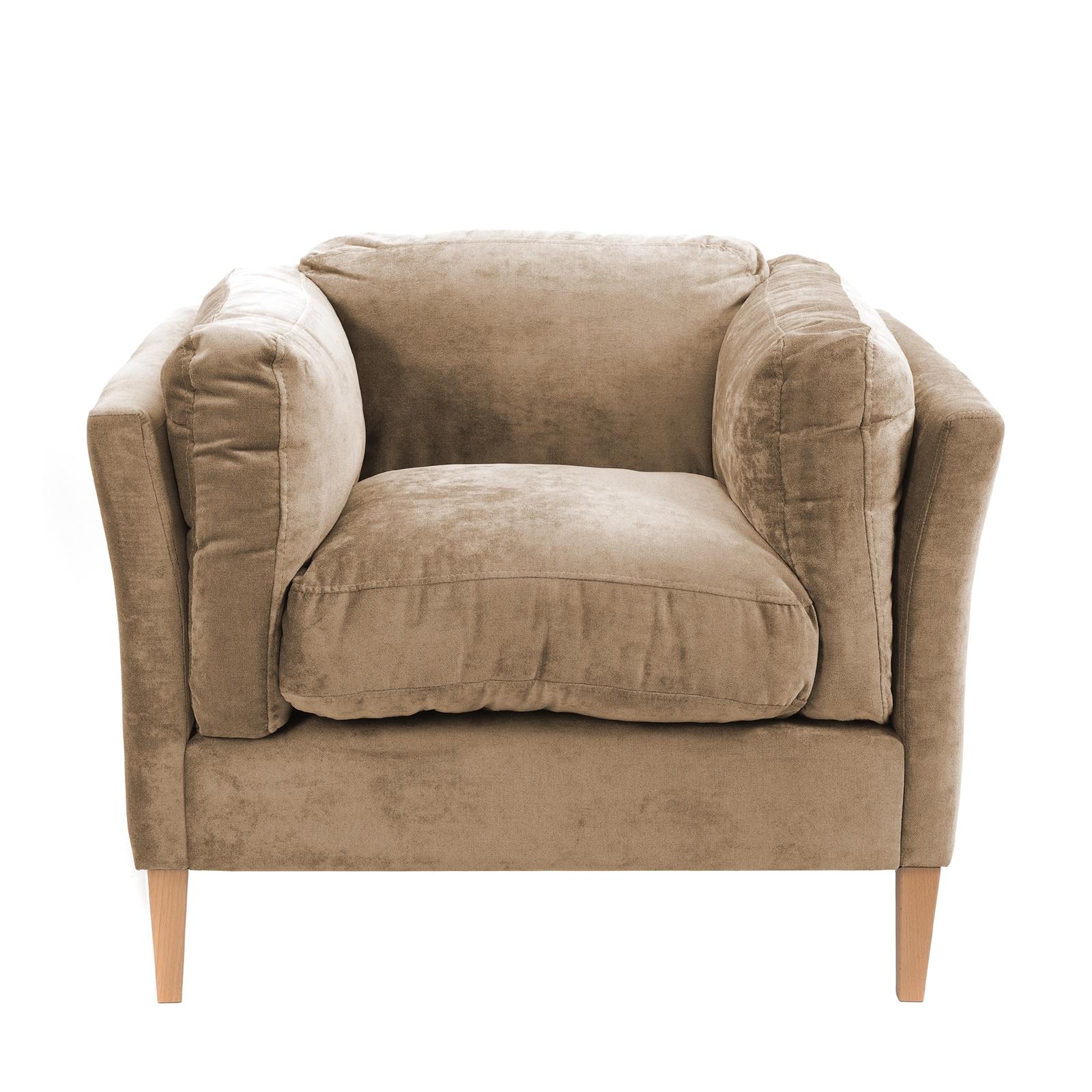 Lounge Kuschel Sessel Relax 94x80x85 Cm Samtbezug Design