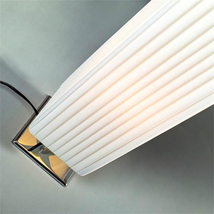DESIGNER STEHLEUCHTE PLISSEE Schlafzimmer Lounge Stehlampe