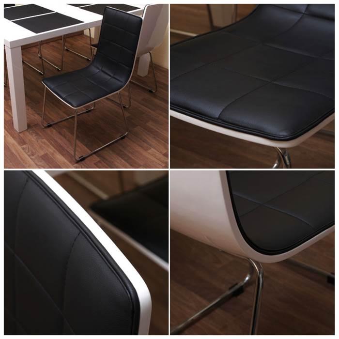 4 design k chenst hle fidelity schwarz. Black Bedroom Furniture Sets. Home Design Ideas