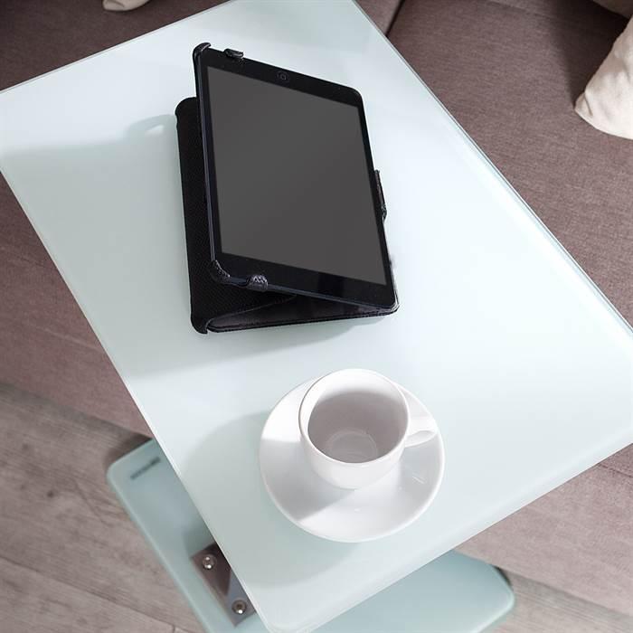 beistelltisch james wei glas 58 cm laptop. Black Bedroom Furniture Sets. Home Design Ideas