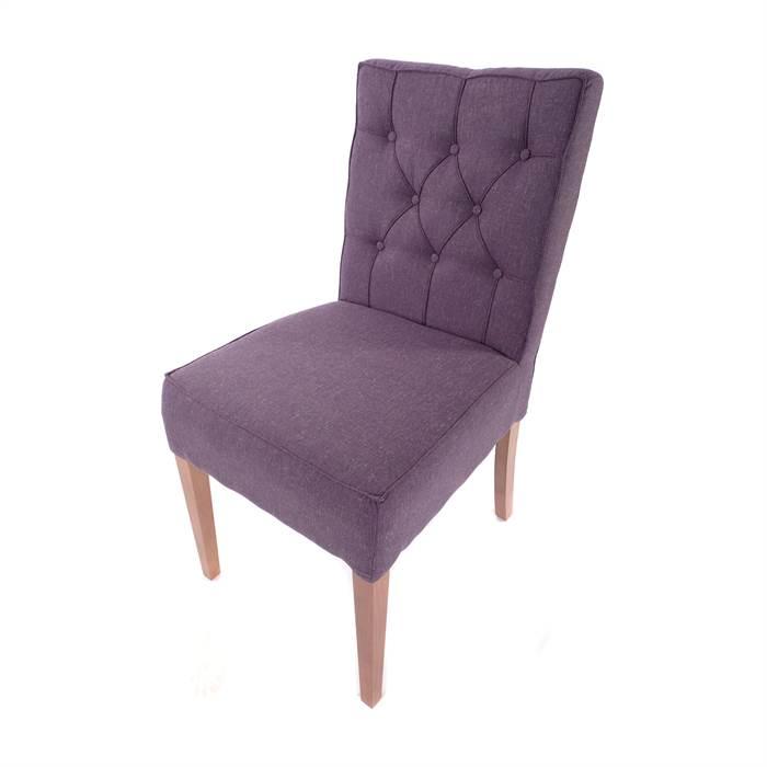 polster k chenstuhl step up aubergine stoffbezug buche. Black Bedroom Furniture Sets. Home Design Ideas