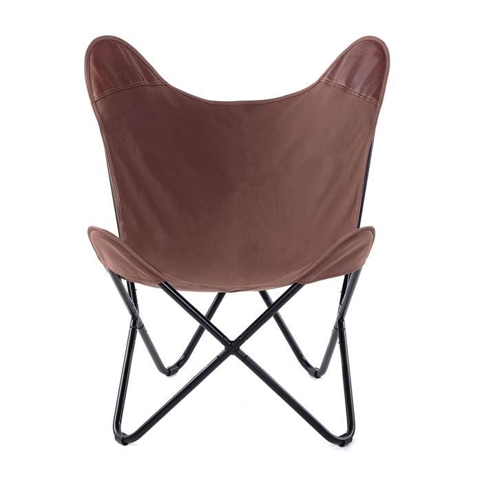 design sessel abraham leinen kunstleder eisen 55 cm. Black Bedroom Furniture Sets. Home Design Ideas