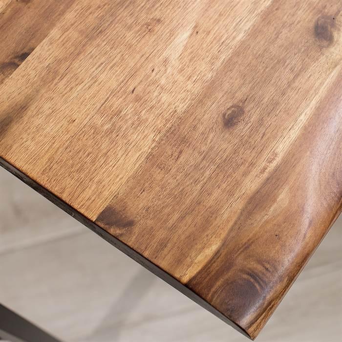 Massiver esstisch sabana akazie 180x75x90 cm for Kuchentisch industrial